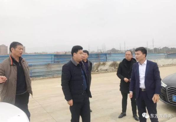 陪同高端医疗产品投资选址项目方考察安徽安庆,签订投资合作意向协议