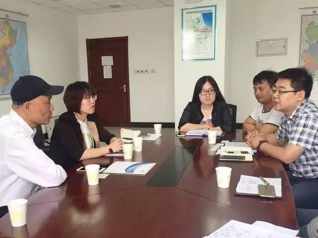 东方龙商务陪同新型风力发电机投资选址项目方考察沧州渤海新区