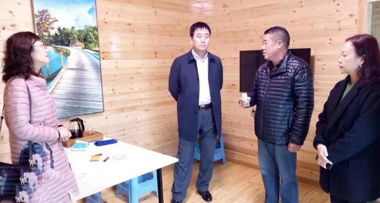 在移动智能屋+储能锂电池投资选址项目方生产基地举行政府对接会,持续加大优质项目对接力度