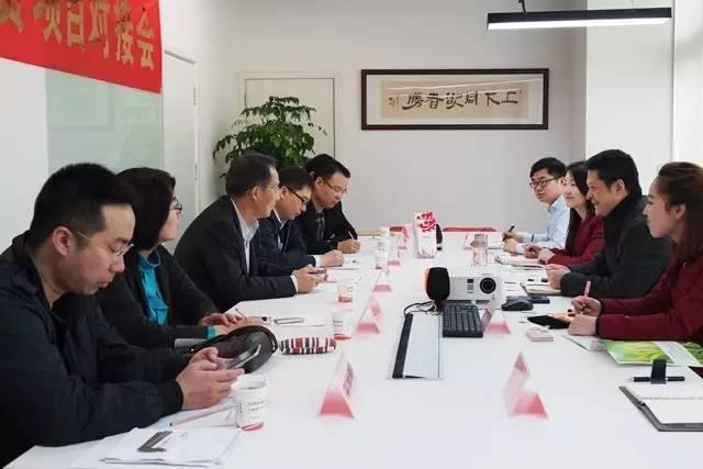 营口市老边区人民政府冮志宇区长考察上海东方龙商务国际平台