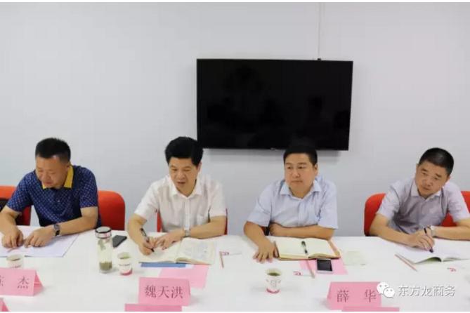 东方龙商务举行湖北荆州公安县委托招商引资启动会暨汽车智能系统全国布点项目对接