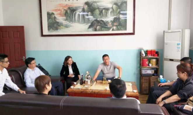 陪同甘肃瓜州政府领导考察新能源锂电池全国布点投资选址项目,达成进一步合作意向