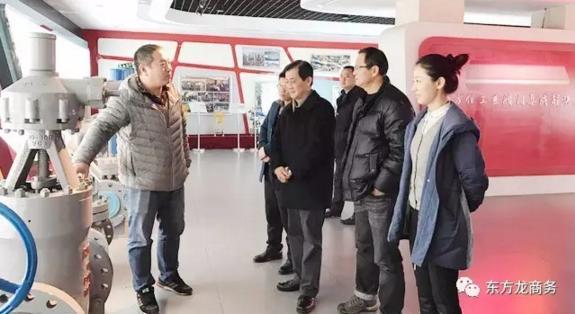 东方龙商务组织湖北黄石、湖南湘潭赴北京跨区域对接、考察工业用品跨境电商园投资选址项目