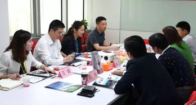 睿玛科公司来访东方龙商务,深入洽谈世界级防水连接器产品的全国转化与推广