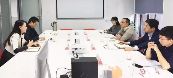 湖北省宜都市市长率队考察上海东方龙商务平台,交流政府委托招商合作