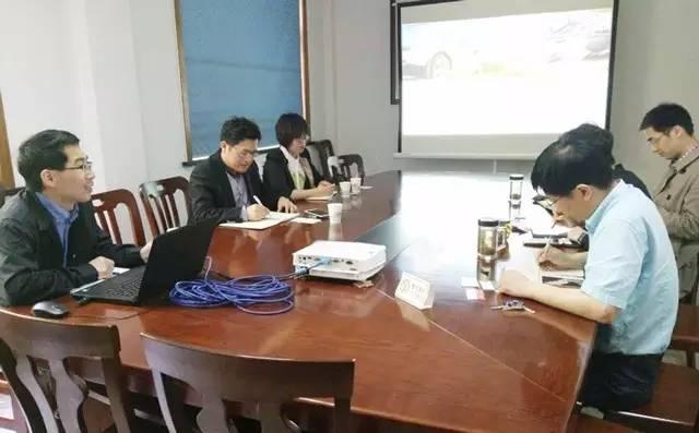 东方龙商务陪同智能停车平台投资选址项目方考察海宁丁桥镇、扬州广陵经开区