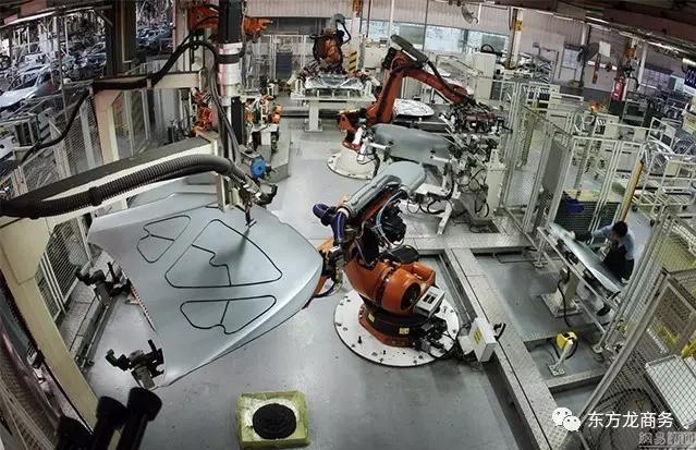 工业机器人与云服务投资选址项目