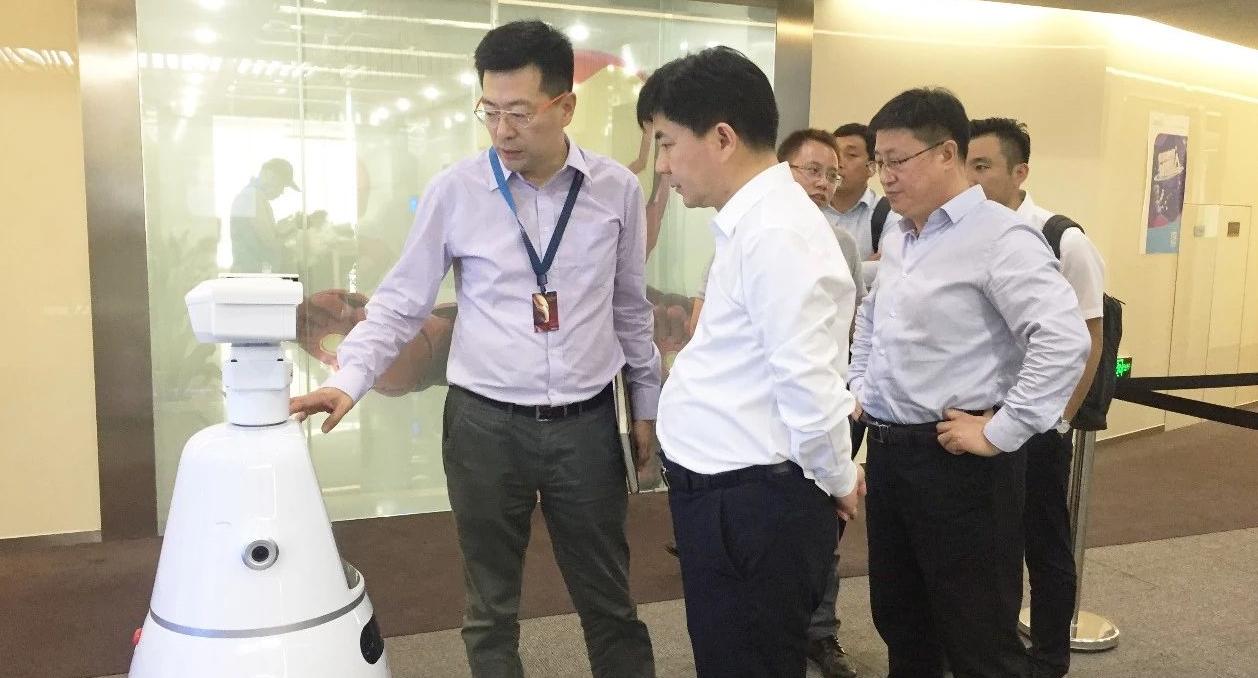深圳分公司陪同政府园区赴独角兽人工智能投资选址项目方对接考察,助力企业加快选址布局