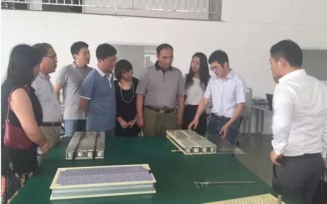 上海东方龙商务陪同甘肃山丹领导考察新能源电池包投资选址项目,进一步推进项目合作
