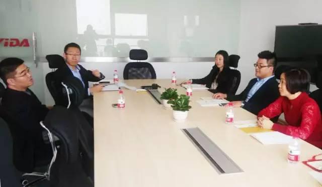 上海东方龙商务公司陪同互联网+投资选址项目方考察长沙亿达意向合作地块