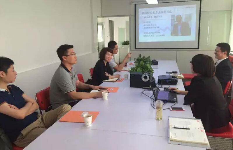 天津政府来访东方龙商务进行委托招商引资战略合作洽谈