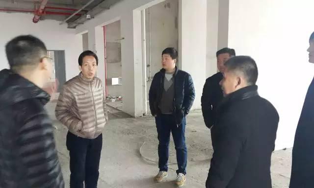 东方龙商务陪同全国酒店连锁投资选址项目方考察调研如东高新技术产业开发区项目载体
