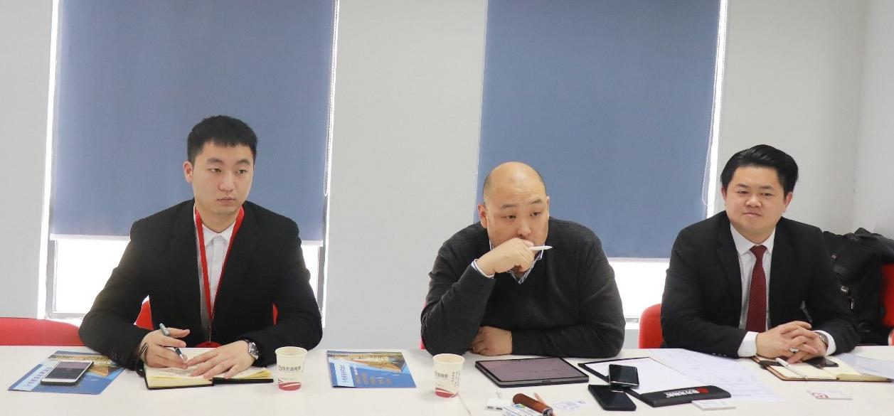 【上海对接会】东方龙商务上海总部举行上市燃气轮机项目政府对接会,双方交流项目合作模式