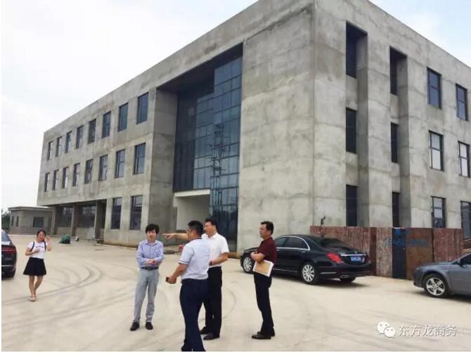 陪同精密端面齿轮生产投资选址项目实地考察江苏句容市下蜀镇,考察取得阶段性进展,将进一步推动落地工作