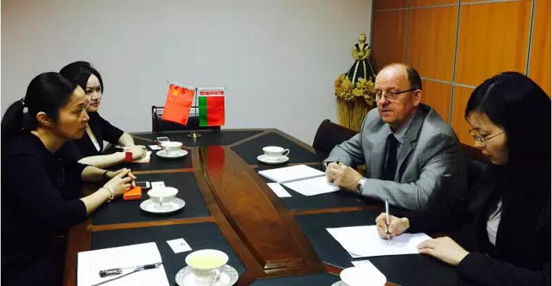 东方龙商务应邀走访白俄罗斯驻沪领事馆,洽谈战略合作