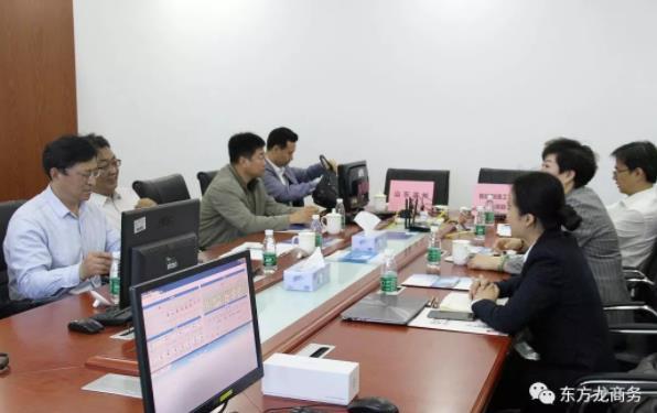 深圳分公司陪同政府园区赴智能制造工业4.0投资选址项目方对接考察,务实推进项目合作进展