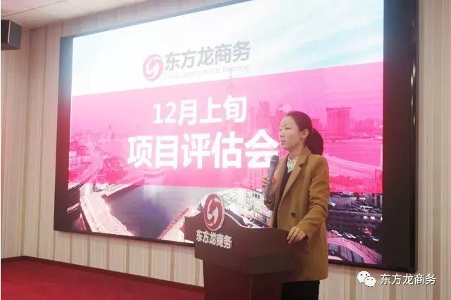 东方龙商务举行12月上旬投资选址项目评估会,确定近期重点对接项目