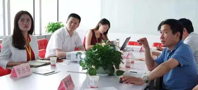 滁州市杨东坡副市长一行应邀来访东方龙商务洽谈委托招商引资合作