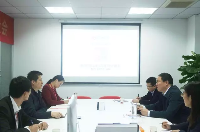 山西省永济市市长孙中全带队考察东方龙商务委托招商引资平台