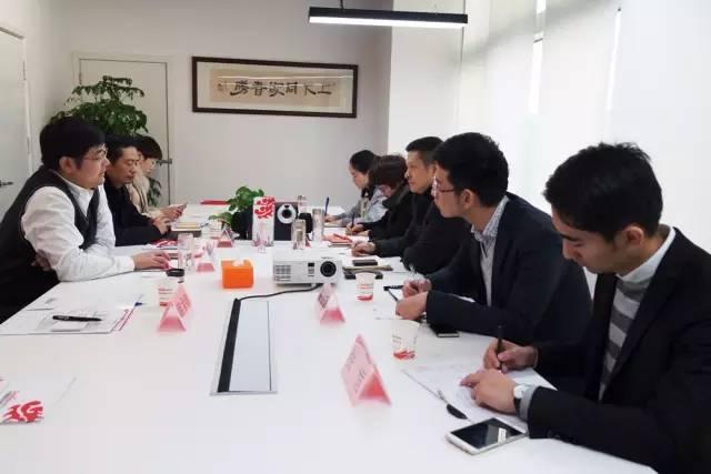 江西万年县县长胡剑飞率队考察上海东方龙国际商务平台