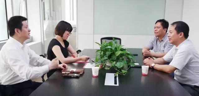 东方龙商务与金湖县政府进一步洽谈委托招商引资外包服务