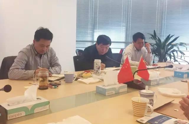 东方龙商务应邀考察上海奉贤四团镇,双方深入交流委托招商引资工作
