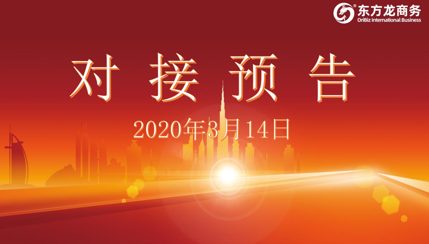 项目预告丨3月14日至中旬,东方龙商务集团将举行11个线上项目对接会!