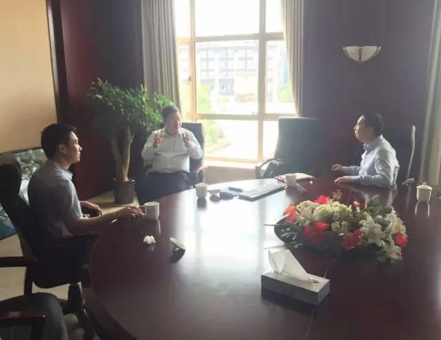 东方龙商务陪同细胞生物科技投资选址项目方实地考察上海奉贤园区投资环境
