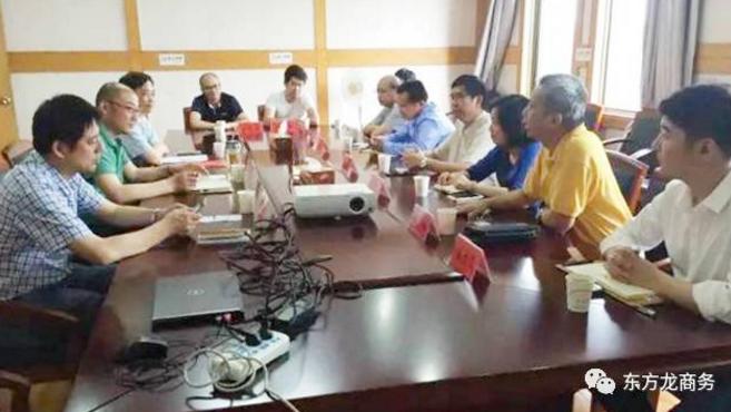 陪同通用航空投资选址项目方考察江苏金湖,达成合作共识,三方共同签订投资意向协议