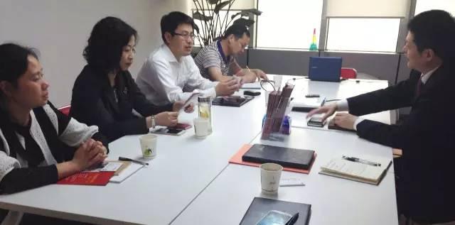 东方龙商务与九江县政府进行委托招商引资战略合作洽谈