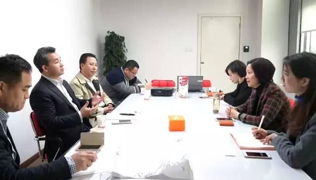 中华-伊斯兰关系理事会理事长丁厚飞博士来访上海东方龙商务深入洽谈一带一路建设合作