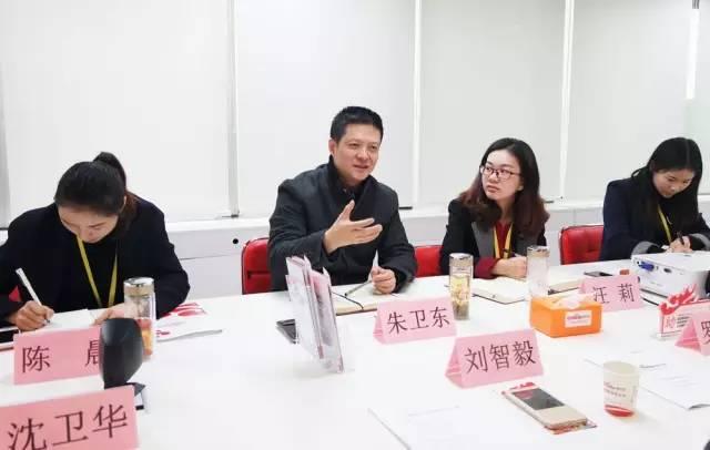 湖北省赤壁市人民政府副市长刘智毅率团考察上海东方龙国际商务平台