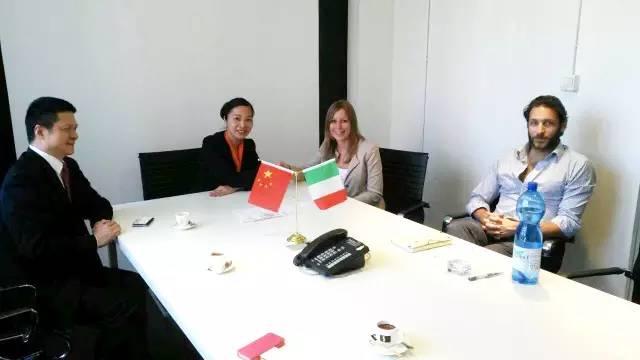 东方龙商务走访中国意大利商会