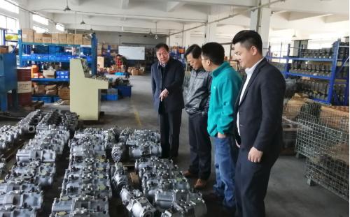 陪同政府园区赴液压机械产业链投资选址项目方对接考察,合作进展有序深化
