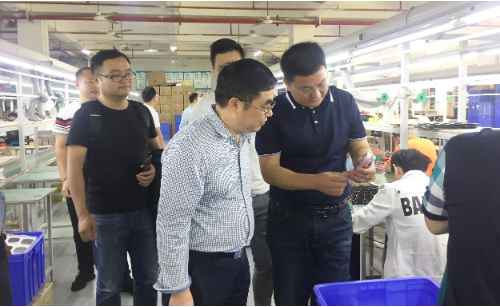 深圳分公司陪同政府园区赴智能终端电子产品产业链投资选址项目方对接考察,推动电子信息产业规模化发展