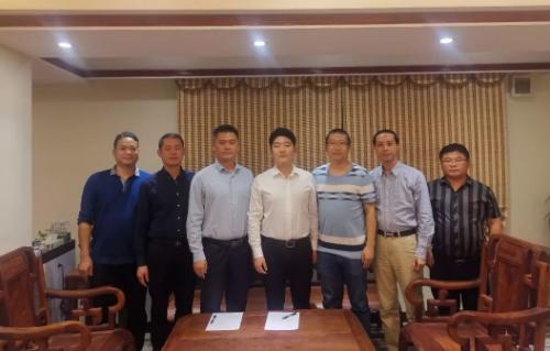 陪同热气球生产运营投资选址项目方赴广西贺州实地投资考察,达成项目落地合作共识
