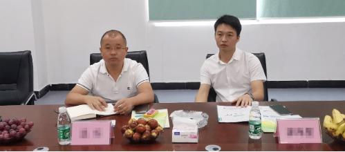 深圳分公司陪同政府园区对接考察聚合物锂电池搬迁投资选址项目方,将进一步推进项目落地