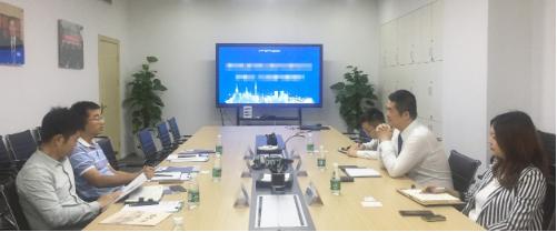深圳分公司陪同政府园区前往互联网+跨境电商投资选址项目方对接座谈,持续推动优质项目建设