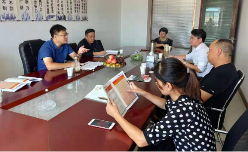 陪同安徽亳州政府前往针织搬迁扩建投资选址项目方对接考察,助力企业释放发展潜力