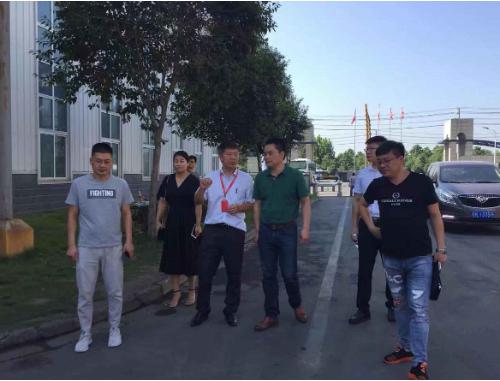 陪同投资选址项目方赴安徽阜阳对接考察,对接成效获政府双方认可