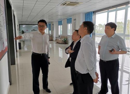 深圳分公司陪同政府园区对接考察高端数控机床投资选址项目,双方达成多项合作共识