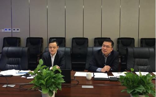 北京分公司陪同政府园区赴上市公司智能机器人产业园投资选址项目方对接考察,高精尖项目获得政府认可