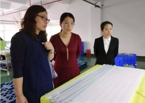 深圳分公司陪同政府园区对接考察高端光电产业投资选址项目,点对点对接取得显著成效