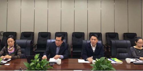 北京分公司陪同政府园区对接考察上市公司智能机器人产业园投资选址项目,务实推进优质项目建设工作
