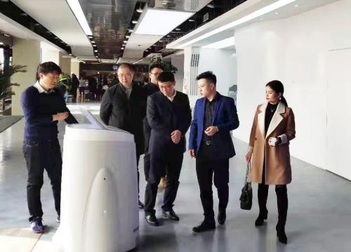 陪同贵州贵阳政府前往上市公司人工智能投资选址项目方对接考察,项目应用前景广阔,市场竞争优势强