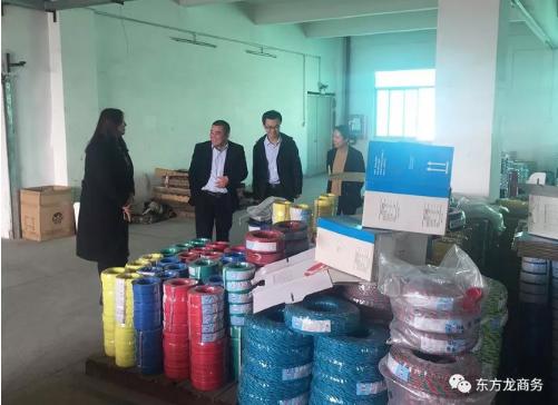 深圳分公司陪同政府园区对接考察电源适配器投资选址项目,双方达成多项合作共识