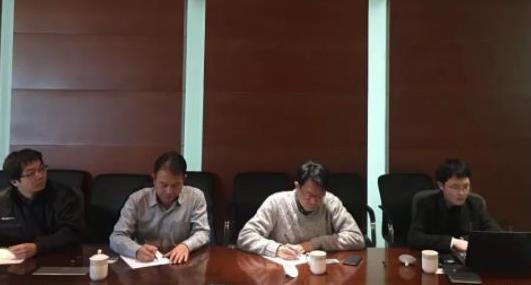 北京分公司陪同政府园区赴外资上市综合环保中心处理投资选址项目方对接考察,达成进一步合作意向
