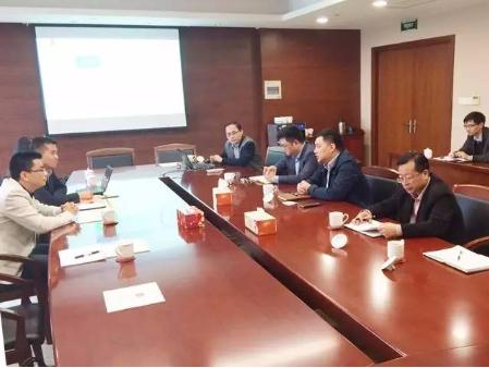 东方龙商务陪同智能空气净化器投资选址项目方参观考察常州经济技术开发区