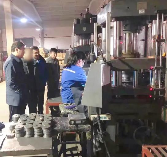 市场占有率逐年攀升!内蒙古地方政府成功考察金刚石制品投资选址项目企业