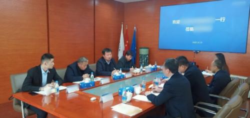 今日,集团精准推介两家A股上市投资选址企业成功对接甘肃、内蒙古地方政府